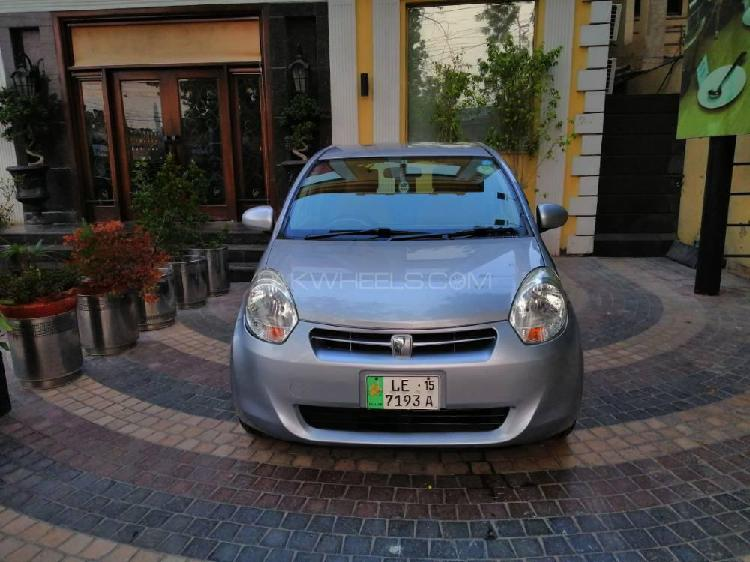 Toyota passo x l package 2012