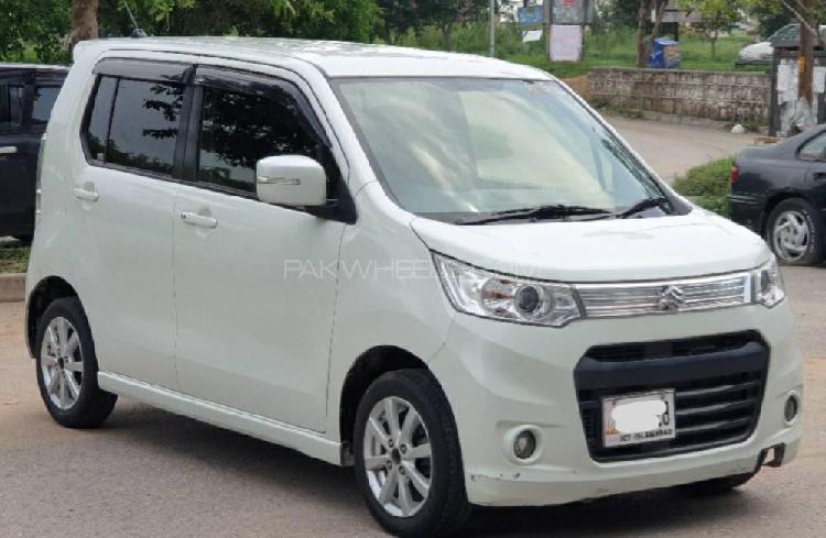 Suzuki wagon r stingray j style 2014