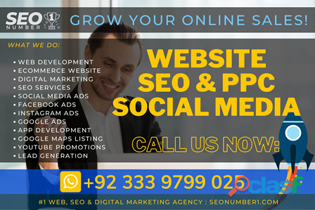Digital marketing | social media | seo | ppc | web & app development