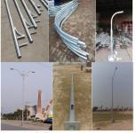 Street lightning poles, lahore