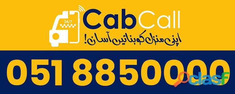 Drive & earn with cabcall taxi islamabad / rawalpindi