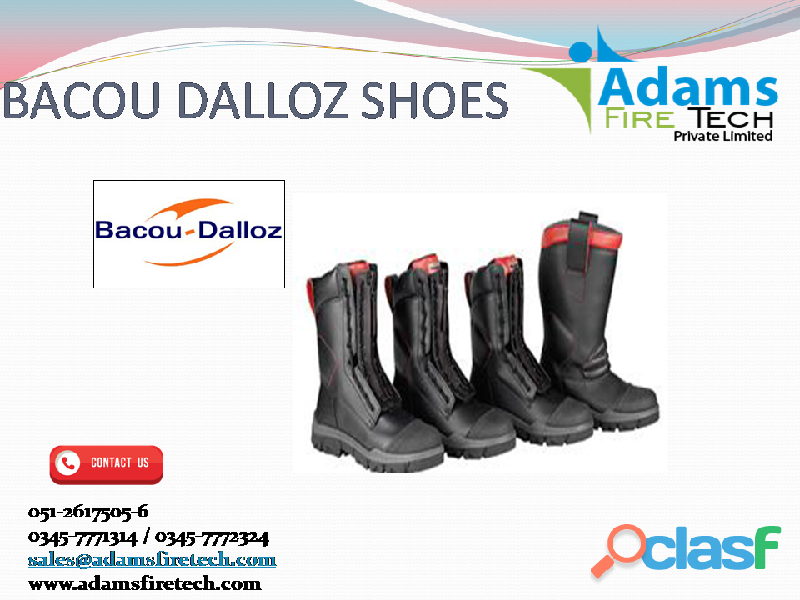 BACOU DALLOZ SHOES   ADAMS FIRE TECH