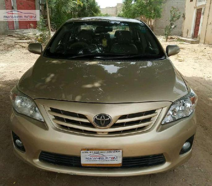 Toyota corolla altis sr cruisetronic 1.6 2013
