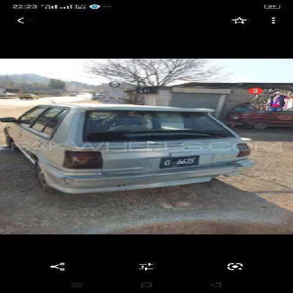 Toyota starlet 1.3 1986