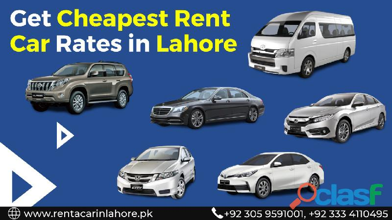 Rent a car services in lahore. honda toyota suzuki mercedes audi