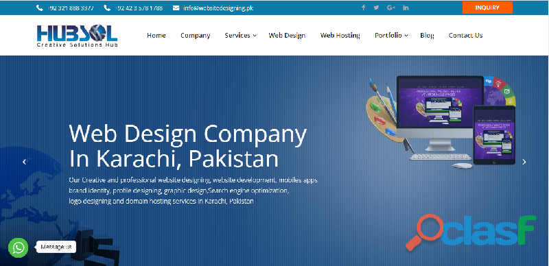 Website designing in karachi