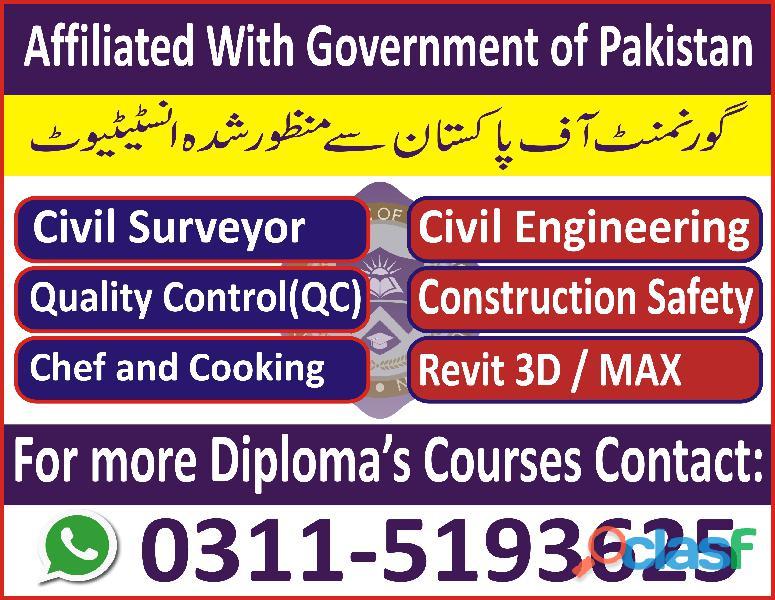 Civil Lab Technician Course in Sargodha Jhelum 5