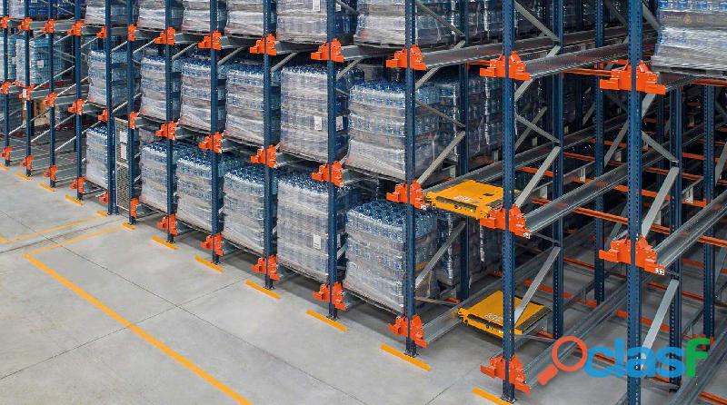 Pallet racking shuttle system in pakistan