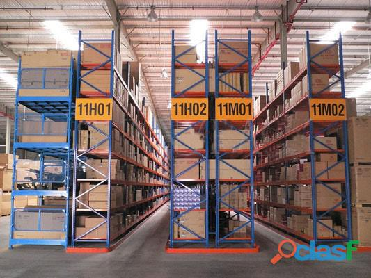 Vna pallet racking in pakistan