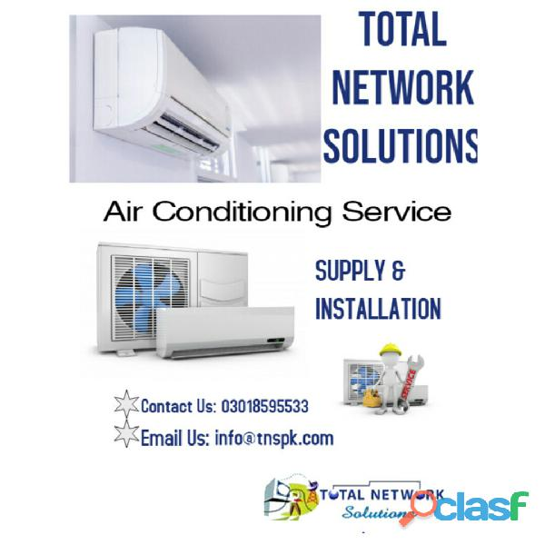 AFFORDABLE COOLING SOLUTION With TOTAL NETWORK SOLUTIONS 1