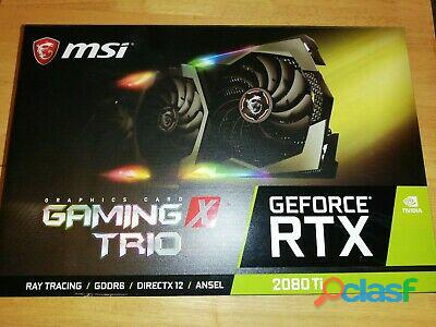 For sale msi rtx 2080ti 11gb x trio/ 1080ti