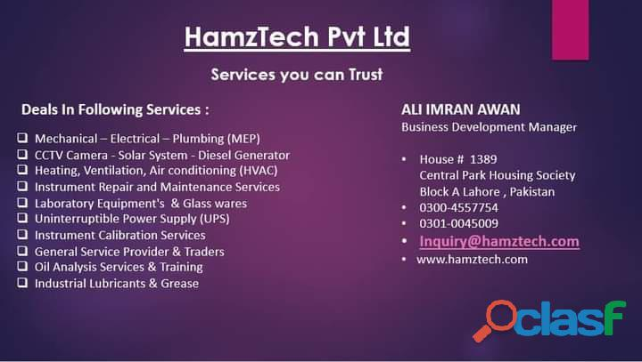 Hamztech Pvt Ltd