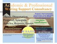 ARTICLE, THESIS & DISSERTATION WRITING SUPPORT, Rawalpindi