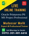 Primavera P6 Coaching Center in Pakistan, Lahore