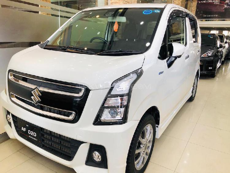 Suzuki wagon r stingray j style 2017