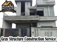Gray Structure Construction Services in Lahore