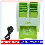 Mini Fan & Portable Dual Blore Small Air Conditioner, Lahore