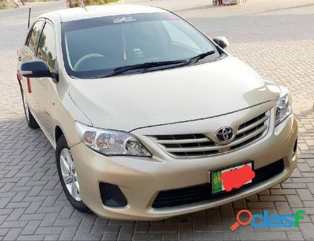 Toyota corola model 2011