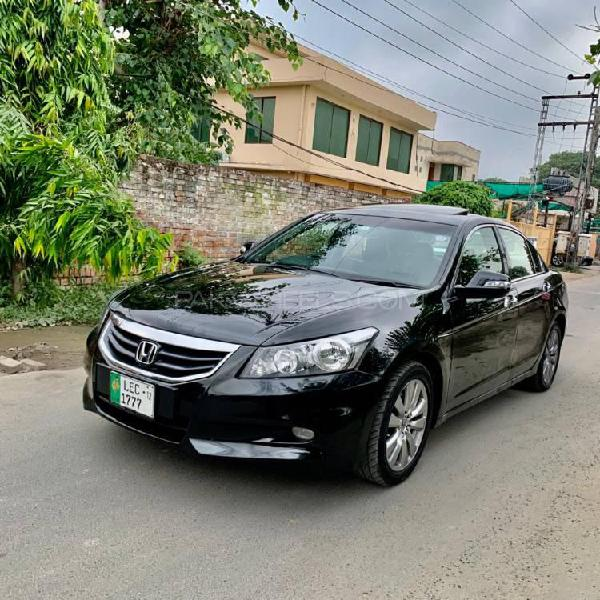 Honda accord type s advance package 2012