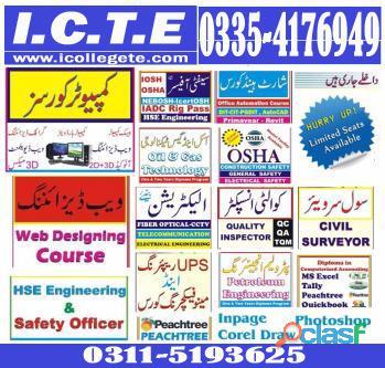 Diploma Information Technology Dit Course in rawalpindi Shamsabad Murree road 03115193625
