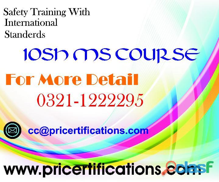 Iosh managing safety course in rawalpindi