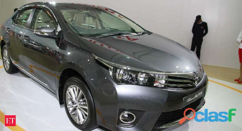 Toyota Corolla Altis Automatic get on easy monthly insatllment