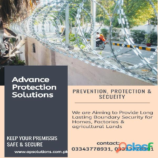 Razor wire/ barbed wire/concertina wire/armed forces wire