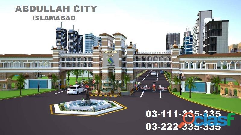 Abdullah city chakri road rawalpindi 5 8 10 marla plot for sale