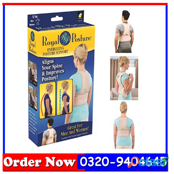 Royal posture support belt in all pakistan