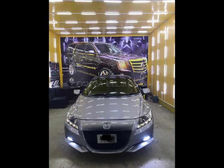 Honda cr-z sports hybrid alpha master label 2010