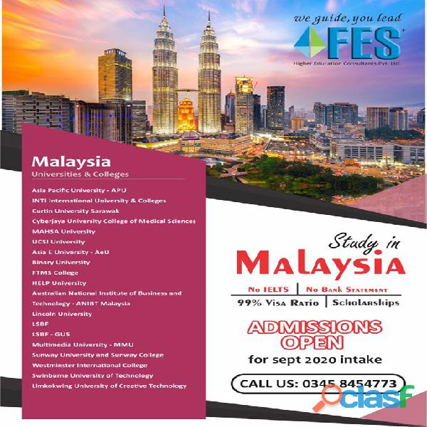 Study Abroad With FES Higher Education Consultants Pvt. Ltd. //../. 4