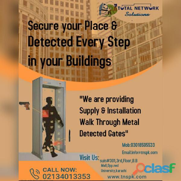 Walk through gates supply & installation