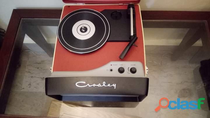 CROSLEY Beautiful Gramophone turntable Record Player 4