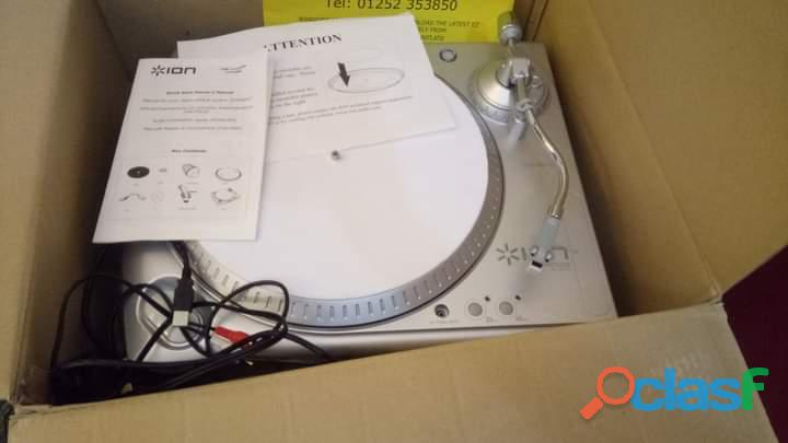 ion ITT USB Turntable Gramophone Record Player 2