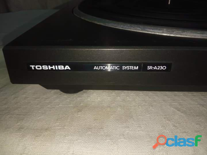 Toshiba Automatic System SR A230 Turntable Gramophone Record Player 2