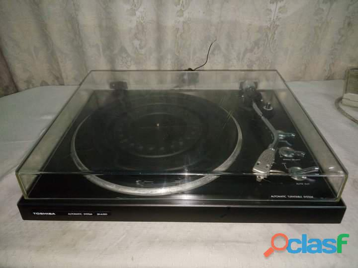 Toshiba Automatic System SR A230 Turntable Gramophone Record Player 4