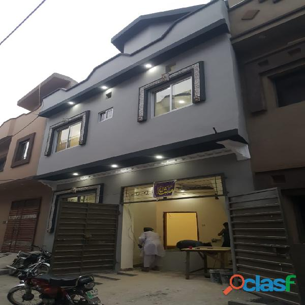 3 Marla Barand new house for sale in Lalazar Sechem Multan Road lahore 1