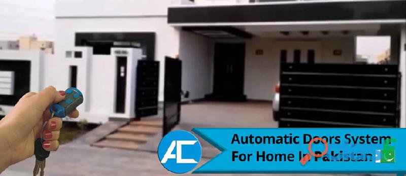 Automatic sliding doors / automatic gate / swing gates / sliding door