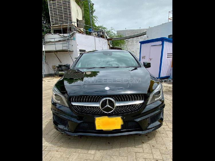 Mercedes benz cla class cla180 2014