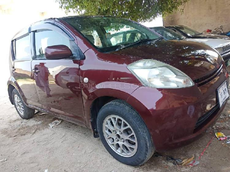 Toyota passo g f package 2007