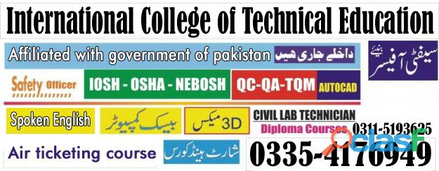 Diploma information technology dit course in rawalpindi islamabad punjab 03115193625
