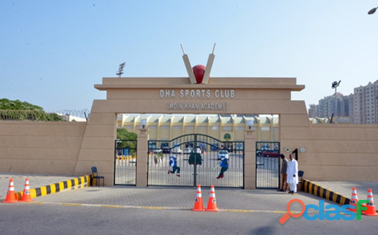 DHA Sports Club Moin Khan Academy membership for sale