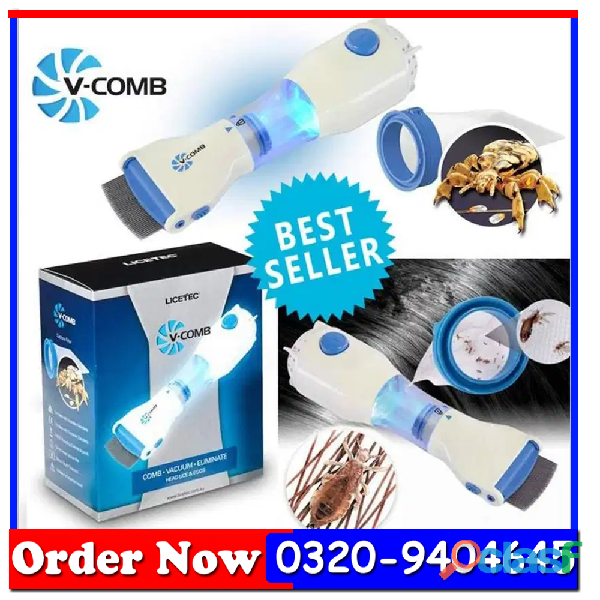 V comb head lice machine in all pakistan