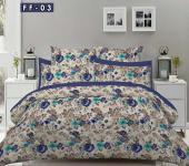 Light & Dark design bed sheet with delivery free, Karachi