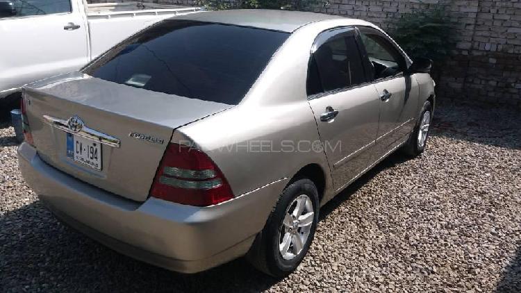 Toyota corolla x 1.5 2000