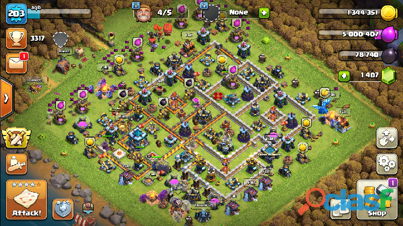 Account for sale clash of clans