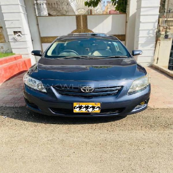 Toyota corolla altis sr cruisetronic 1.8 2009