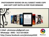 Photography Books for sale hard copy and soft copy (PDF),
