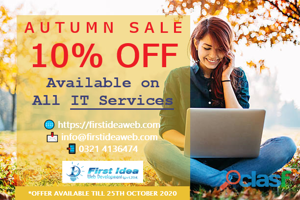 10% Off on all Digital Services   SEO , Web development, SMM, domain