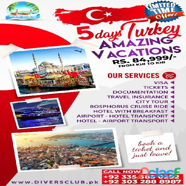 best turkey tour package